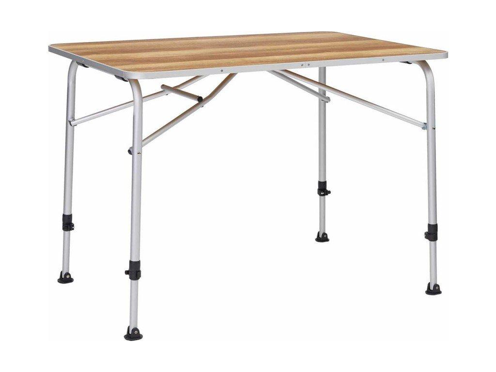 Berger campingový stůl Livenza světlý - 100 x 68 cm