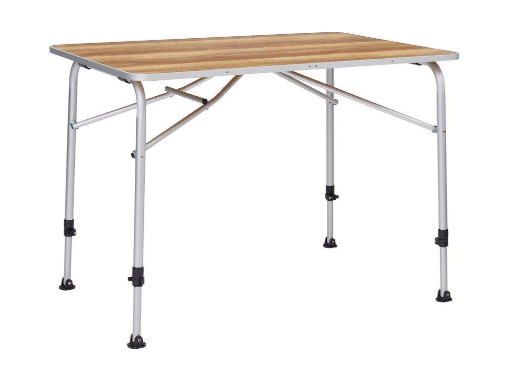 Berger campingový stůl Livenza světlý - 80 x 60 cm