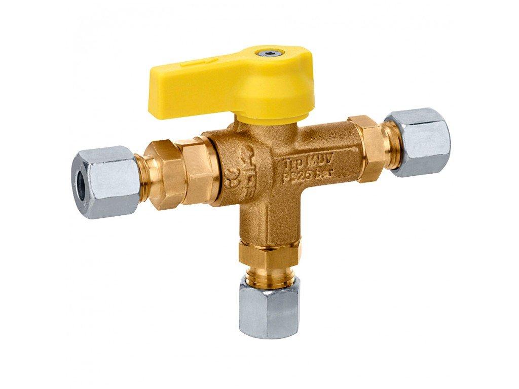 Plynový přepínací ventil
