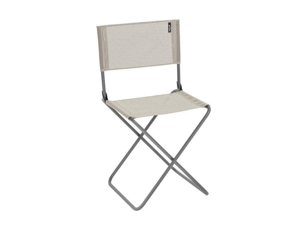 Lafuma skládací stolička s opěradlem CNO béžová