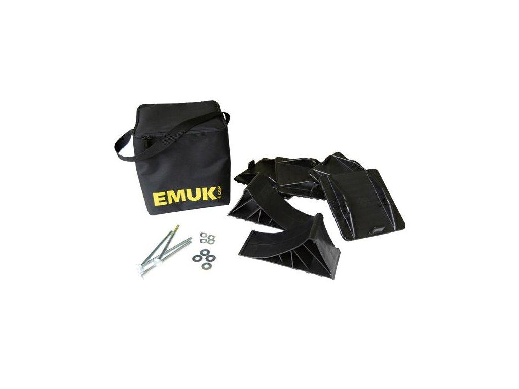 Sada opěrných desek a klínů Emuk Typ 100