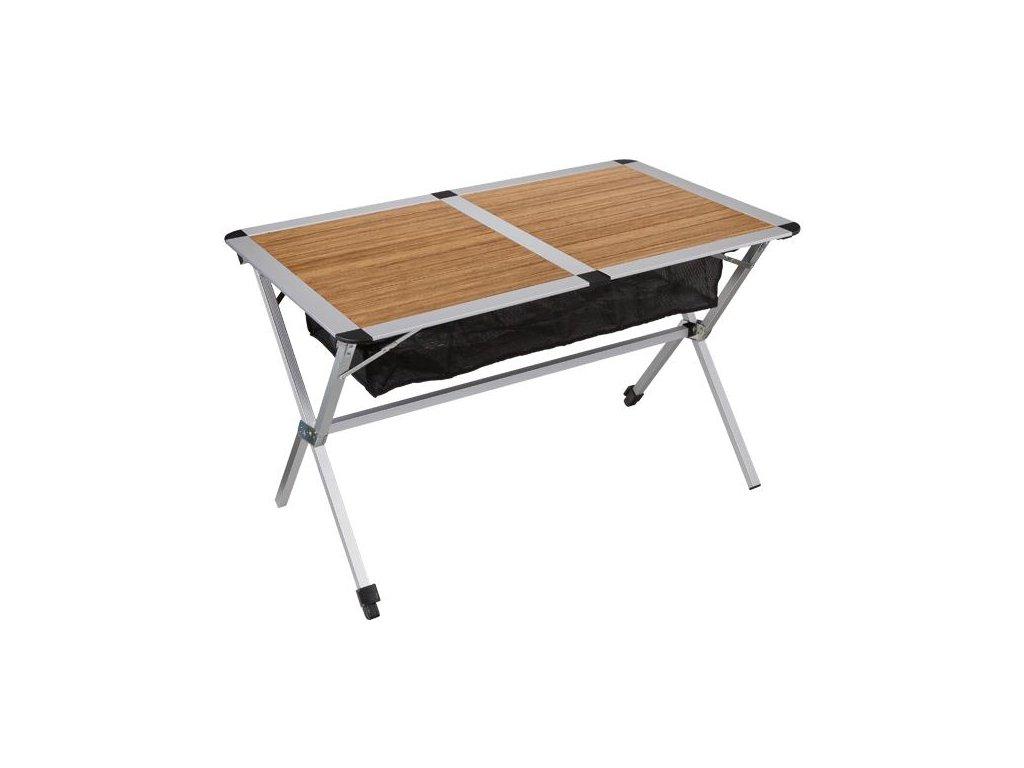 Hliníkový skládací stůl Bambus 115 x 75 cm
