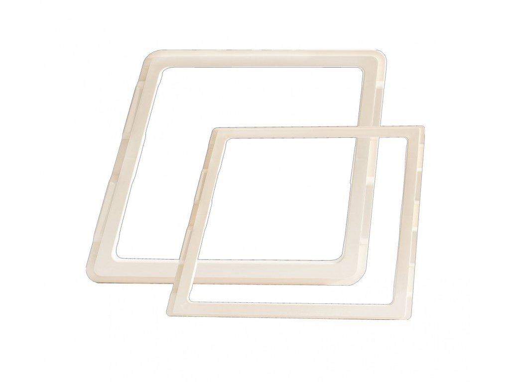 MPK adaptérový rám pro střešní okna 40 cm x 40 cm