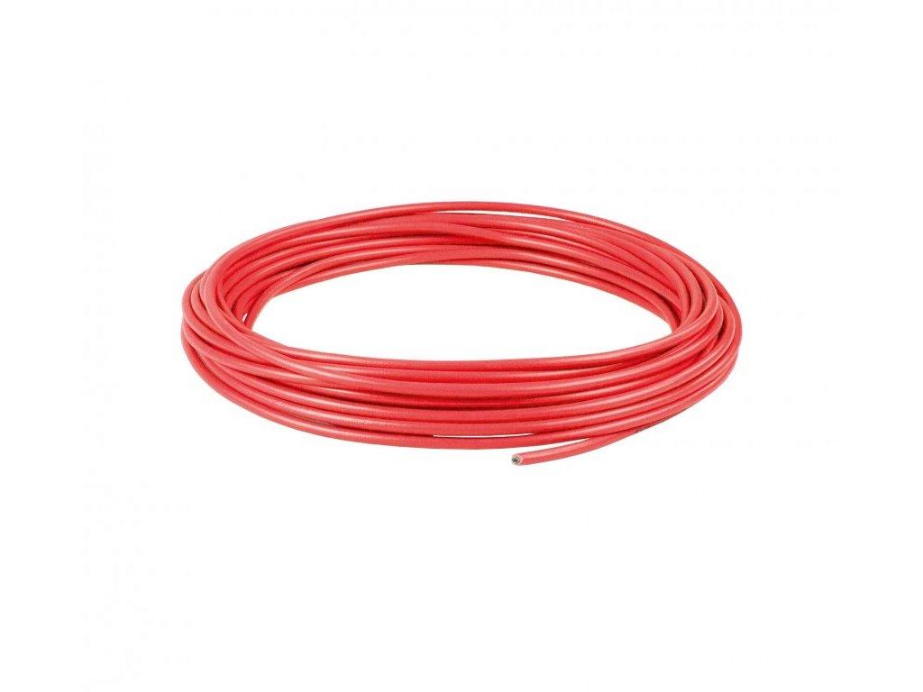 Flexible PVC-Aderleitung Rot 1,5 mm Länge 5 m