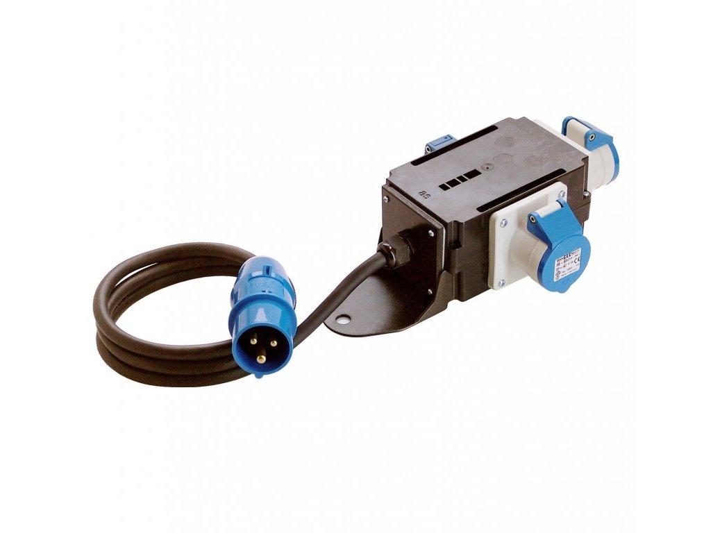 CEE-Rozbočovací zásuvka  EMS 3polový