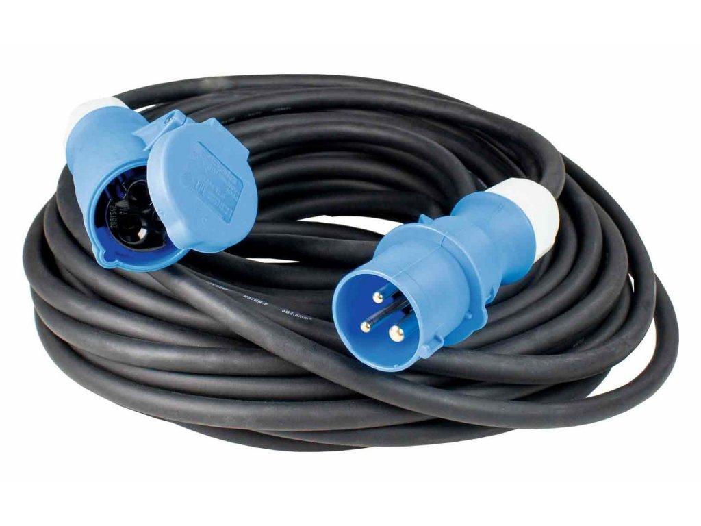 Prodlužovací kabel 5m s CEE zásuvkou a CEE zástrčkou
