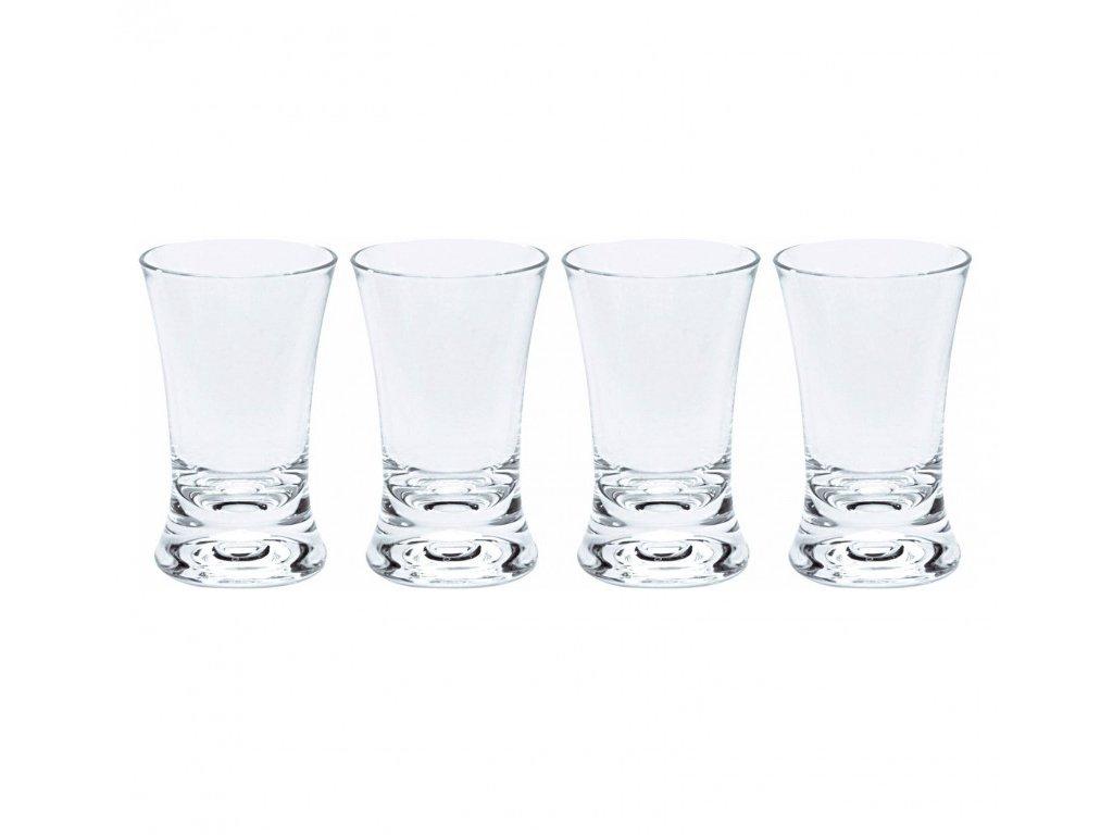 Gimex sada 4 panákových skleniček