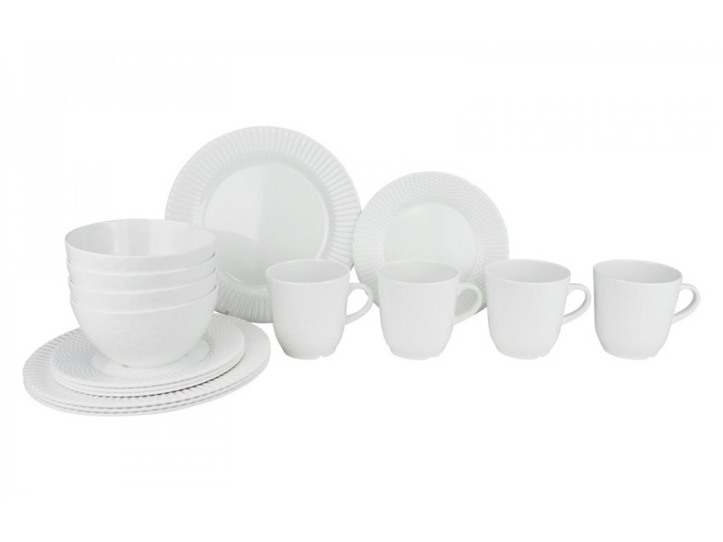 Gimex 16-dílná sada melaminového nádobí Royal Antislip