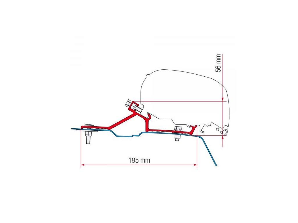 Kit Van F65 pro Nissan NV400 H2, Opel Movano H2, Renault Master H2 (2010 – …)