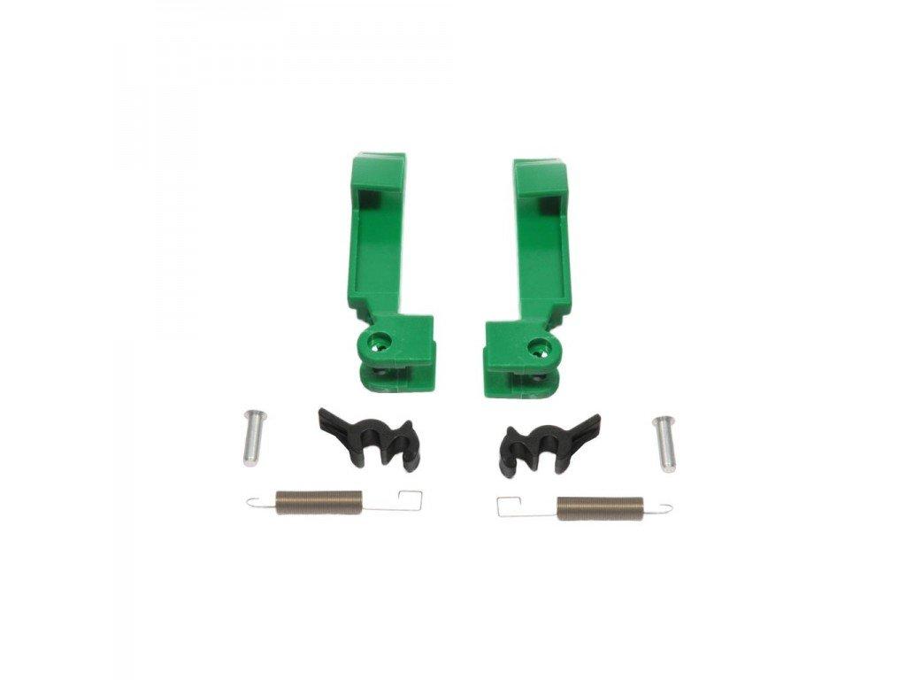Verriegelung Thule Omnistor 5002 / 5003, grün, Satz links und rechts
