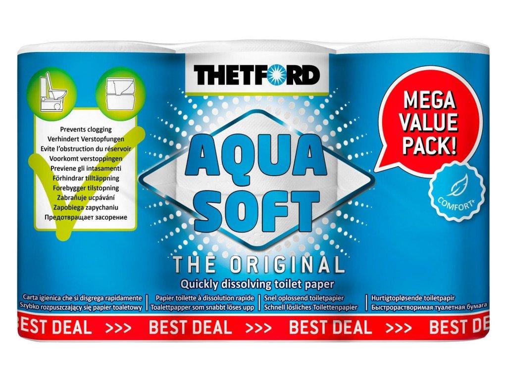 Thetford Aqua Soft akční balení 6 ruliček
