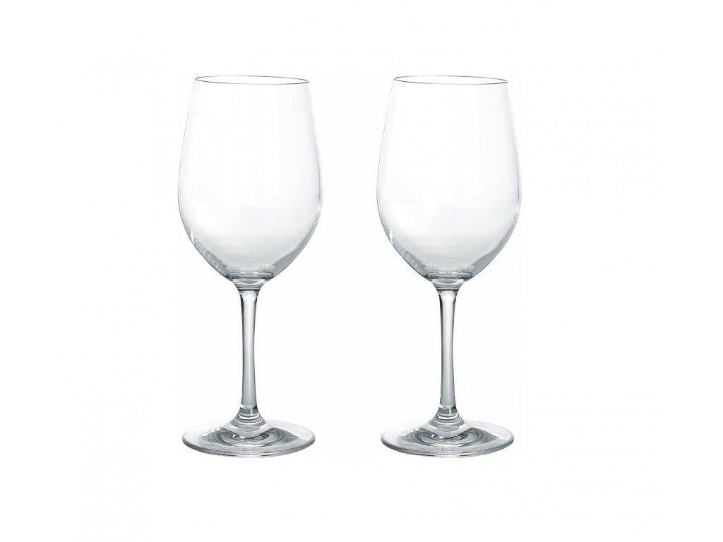 Gimex sada 2 sklenic na bílé víno Blow 0,25 l