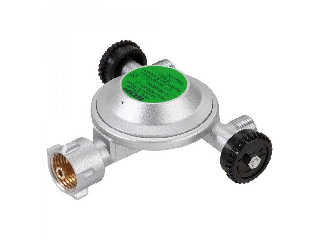 Nízkotlaký plynový regulátor 50 mbar - 3 výstupy