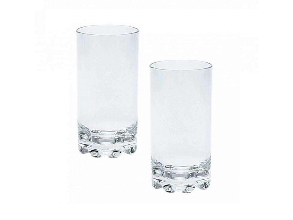 Sada 2 sklenic na vodu - 0,45 l