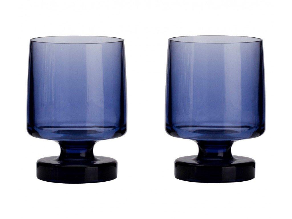 Flamefield Sada skleniček 2 kusy modré