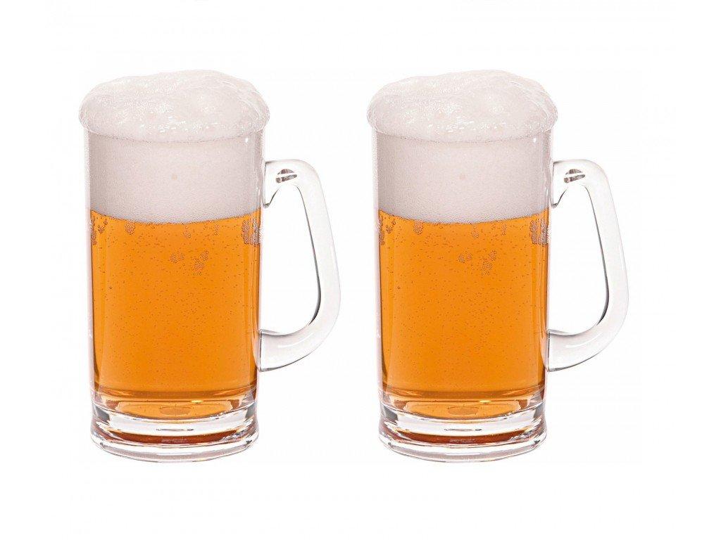 Sada 2 pivních půllitrů Berger - 0,5 l