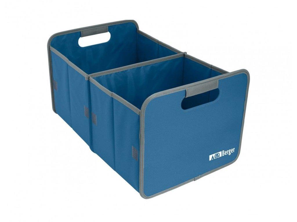 Berger skládací box modrý
