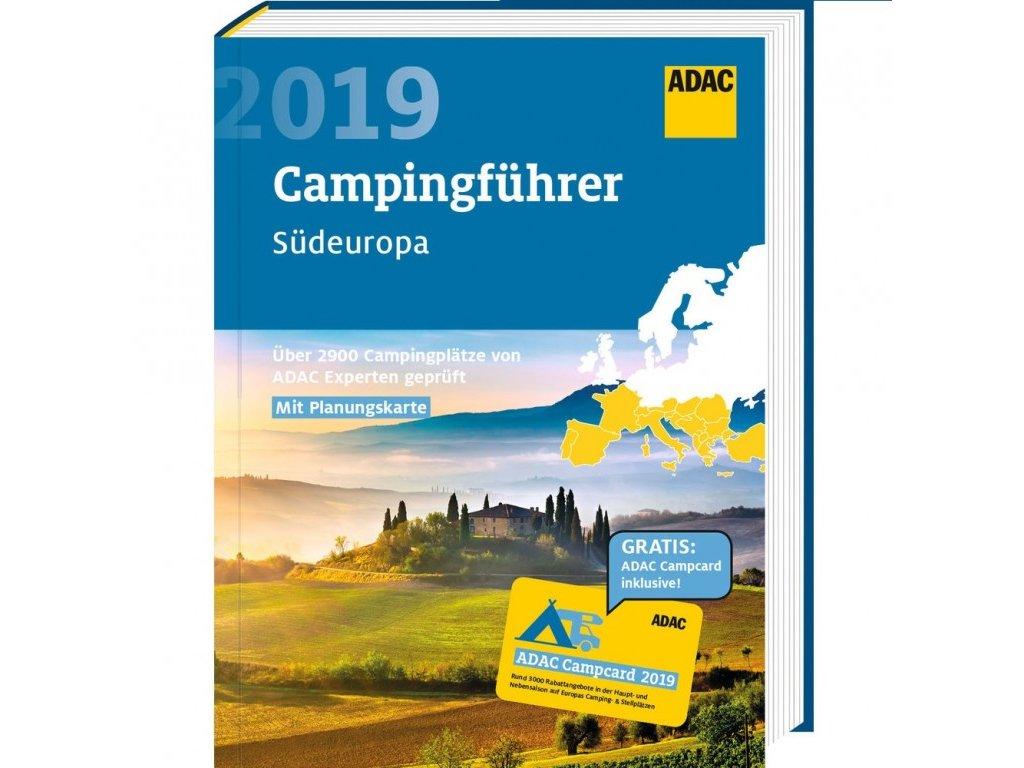 Průvodce ADAC Campingführer Südeuropa 2019