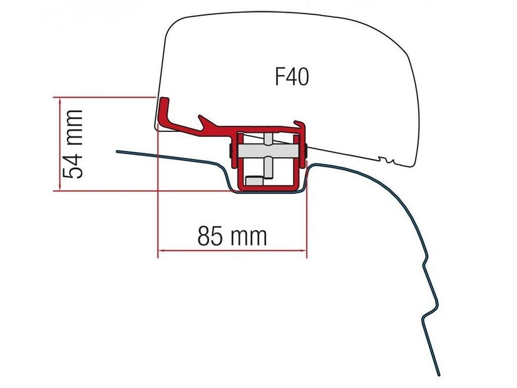 Fiamma Držák markýzy pro VW T5 / T6