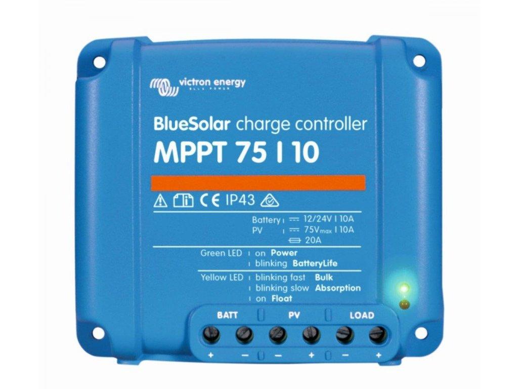 MPPT solární regulátor Victron Energy 75/10