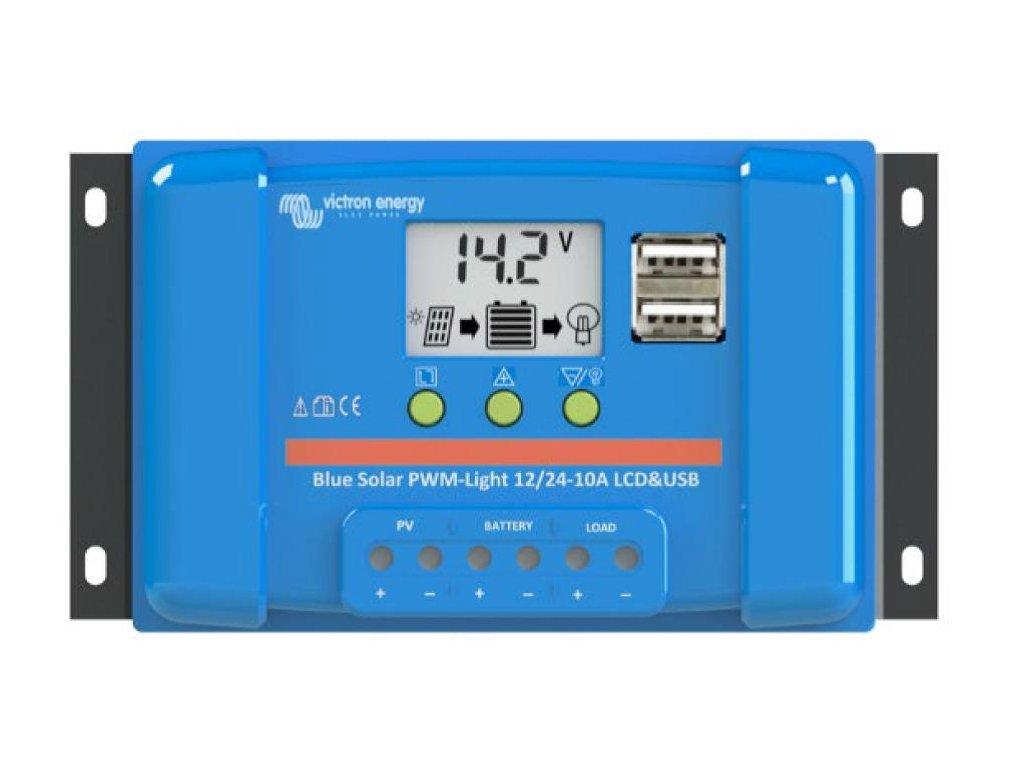 PWM solární regulátor Victron Energy LCD&USB 30A