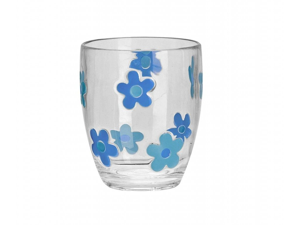 Flamefield sada skleniček Flower Aqua