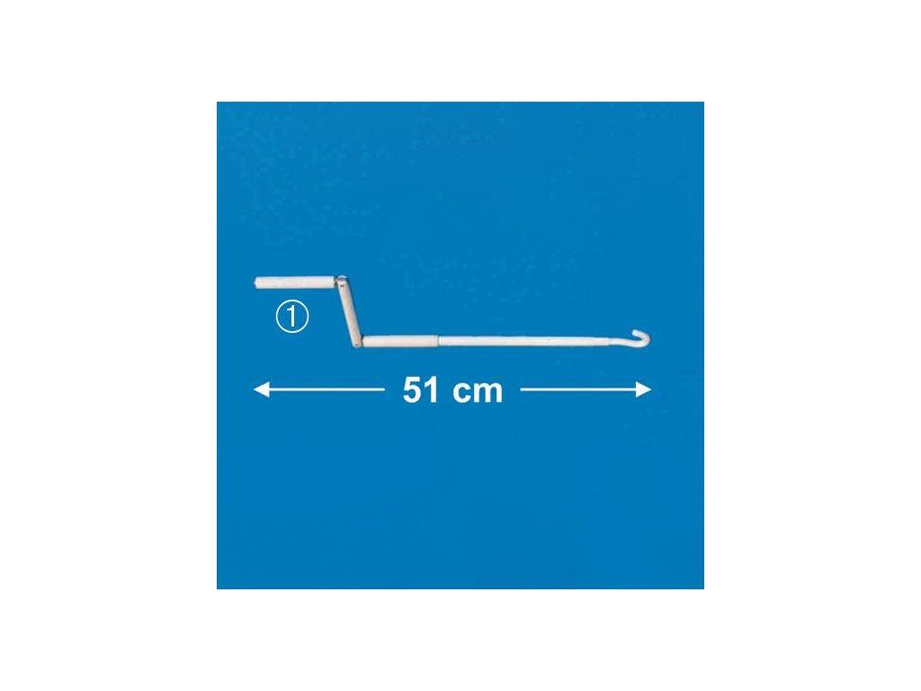 Klika markýzy Fiamma délka 51 cm - 01756B01A