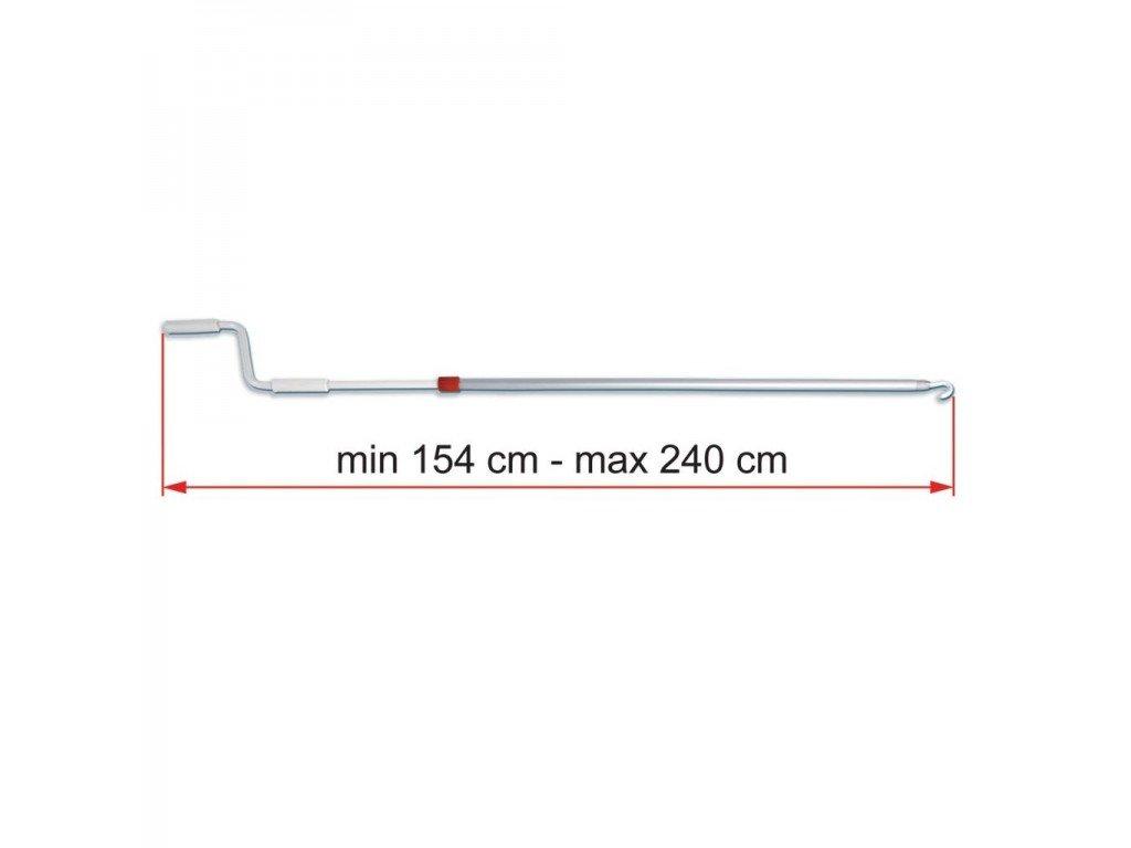 Klika markýzy Fiamma délka 154 - 240 cm - 03878C01