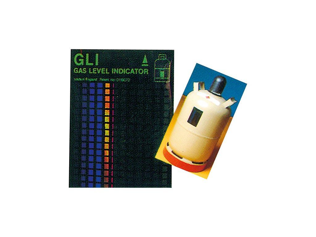 Indikátor stavu hladiny plynu - hliníkové láhve
