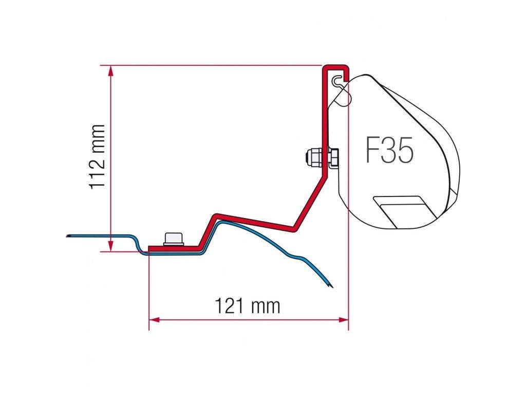 F35 Pro Kit Mercedes Viano – Viano Marco Polo – Mercedes Vito (od r.v. 2004)