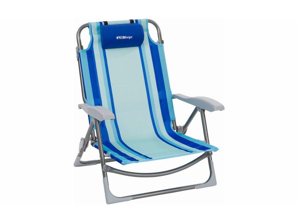 Plážová polstrovaná židle Berger