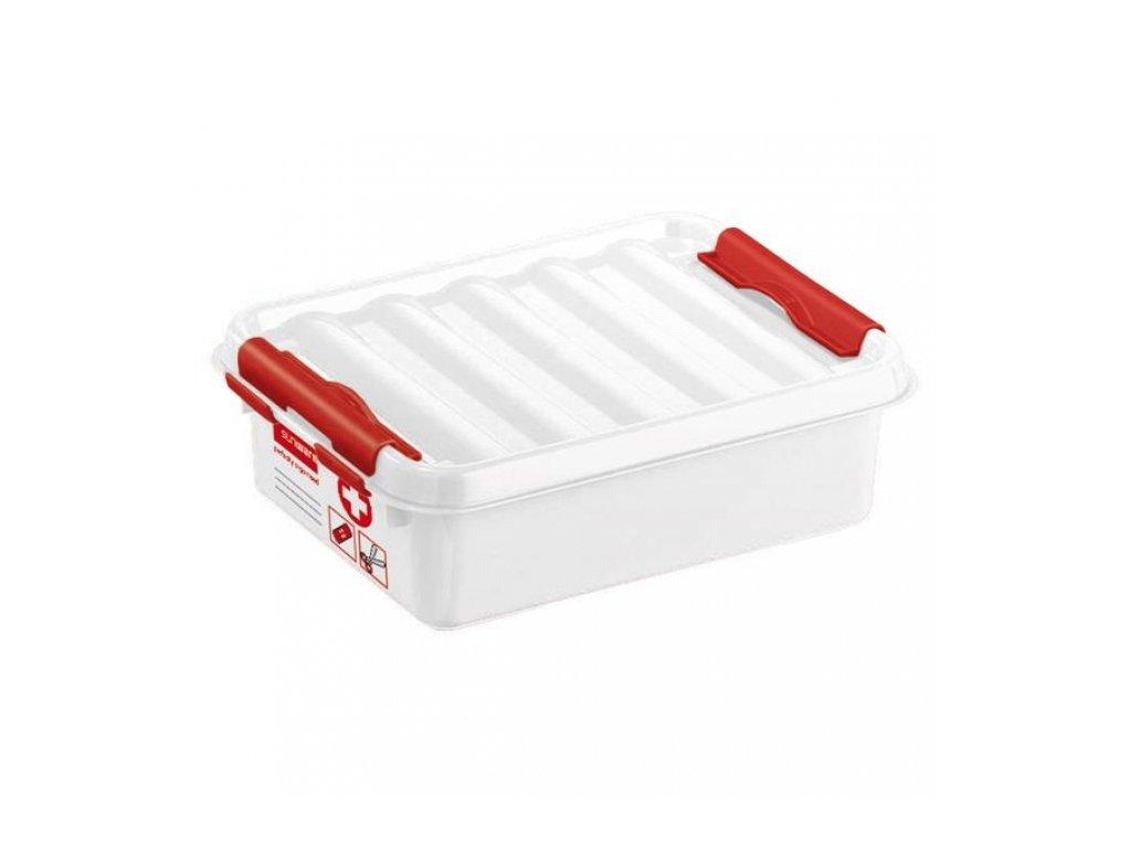 Plastový box na léky Q-line 1l