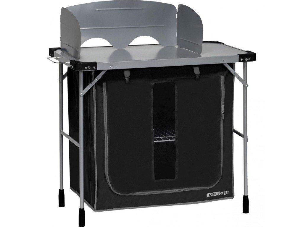 Skládací skříňka Berger na vaření ocelová