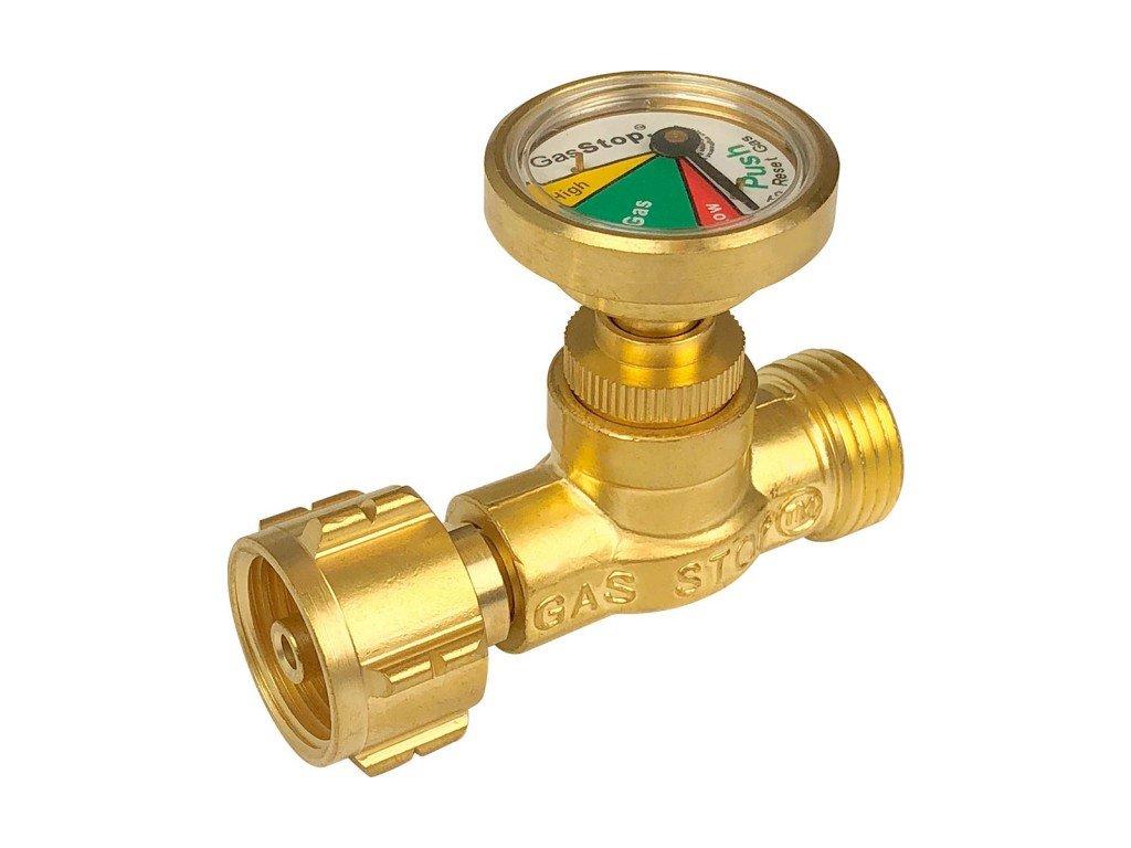 GasStop pojistný ventil proti úniku plynu