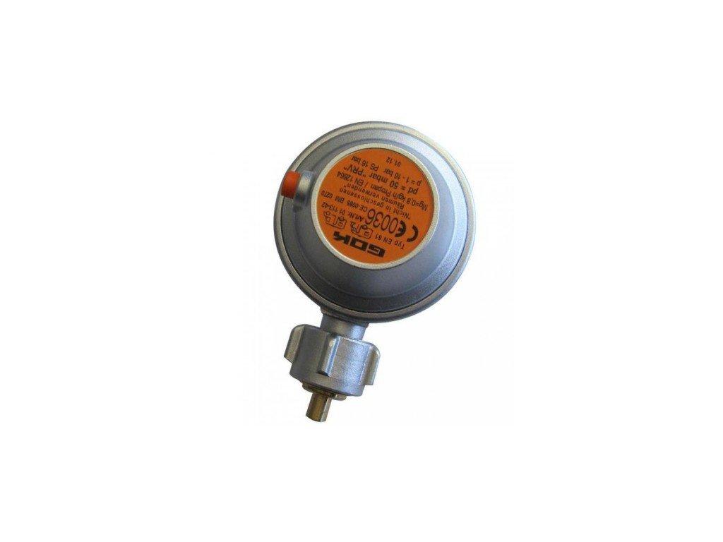 Nízkotlaký úhlový plynový regulátor T4 - 50 mbar