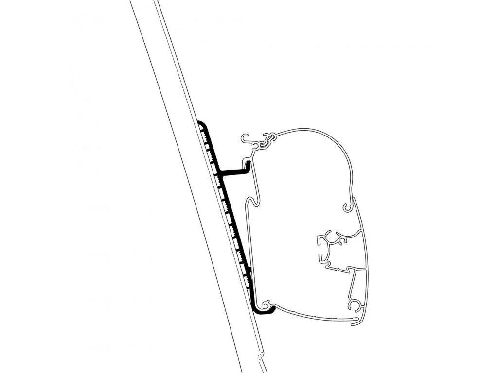 Adaptér pro Thule markýzy pro Fiat Ducato H3