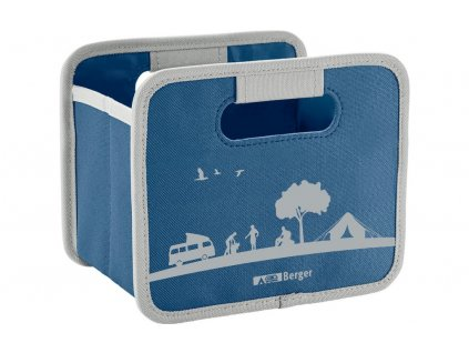 Berger Skládací box Mini modrý