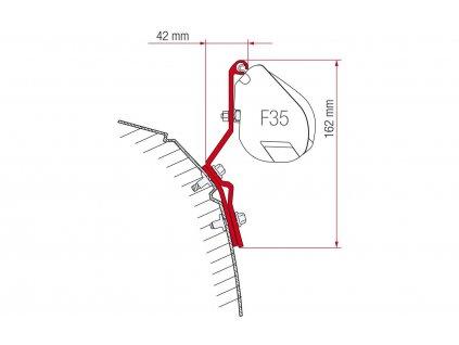 Adaptér markýzy Fiamma F35 Pro - VWT4
