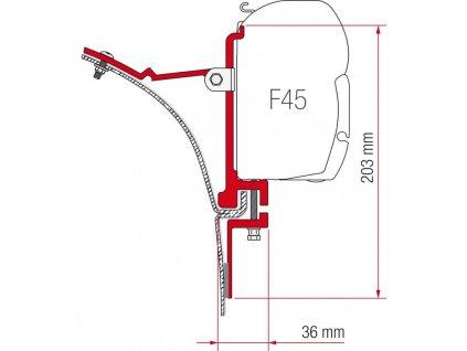 Adaptérová sada pro Fiamma markýzy F45