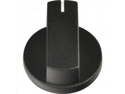Bedienknopf, schwarz für Thetford-Kocher und Backöfen, 3 Stück