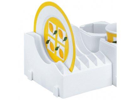 Držák pro 6 talířků - nízký