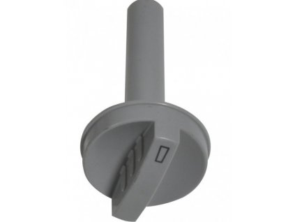 Drehknopf Thermostat für Dometic-Kühlschränke, silbergrau