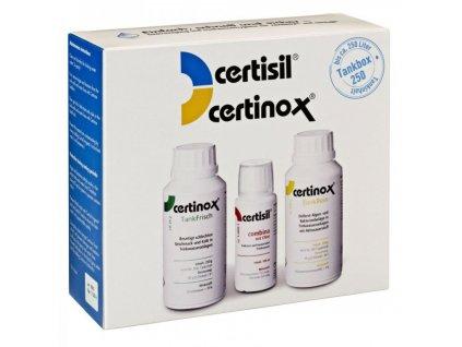Certibox 250 - dezinfekční a čisticí sada