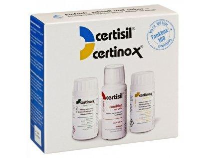 Certibox 100 - dezinfekční a čisticí sada