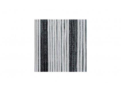 Berger chenillový závěs 200 x 100 cm - černá, šedá