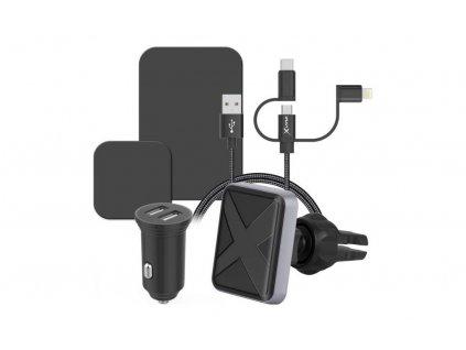 XLayer Magfix Smartphone Kfz-Ladegerät Starterkit