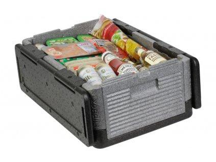 Overath Flip Box VELKÝ skládací izolační box 39 litrů