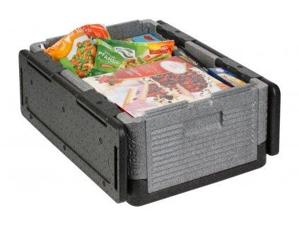 Overath Flip Box Premium faltbare Isolierbox 25 Liter
