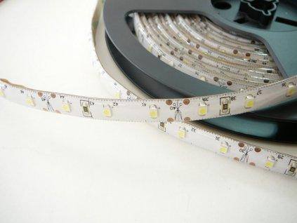 LED pásek 5m voděodolný - studená bílá