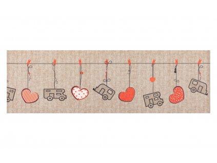 Arisol koberec běhoun Heart béžový